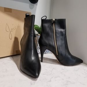 👢 JOIE ANKLE HEELED BOOTS